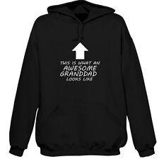 BEST GRANDDAD PERSONALISED HOODIE AWESOME GIFT XMAS GRAMPS POPS GRUMPS BIRTHDAY