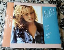 ELISA FIORILLO How Can I Forget You MIX RARE CD Jellybean More Than Love PRINCE