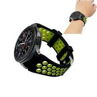 Neu Silikon Uhrband Armband Uhrenarmbänder Für Samsung Gear S3 Classic Frontier