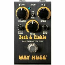 Dunlop Way Huge Smalls WM91 Pork and Pickle Bass Overdrive Fuzz Effects Pedal