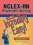 Incredibly Easy! Series#174: NCLEX-RN® Psychiatric Nursing (2010, Paperback)