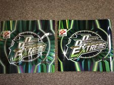 Set Of 2 Dance Revolution DDR Extreme Marquee Sign Graphics Konami