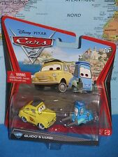 DISNEY PIXAR CARS 2 GUIDO & LUIGI #10/11 ***BRAND NEW & VHTF***