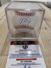 Mike Trout Signed Baseball Autograph Ball Auto COA GA Certificate