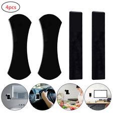 TV Mount Fixate gel nano rubber pad Flourish Lama Wall Speaker holder Black 2x