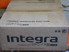 NEW Integra by Onkyo DPC-7.9 / 6 Disc DVD CD Carousel Changer Player HDMI output