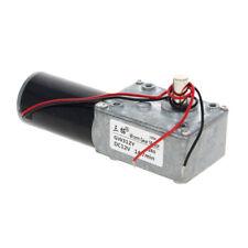 1Pcs DC 12/24V Worm Gear Electric Motor 14-468RPM Torque GW31ZY Single 8mm Shaft