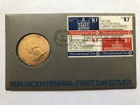 John Adams 1974 American Revolution Bicentennial First Day Cover - Unopened