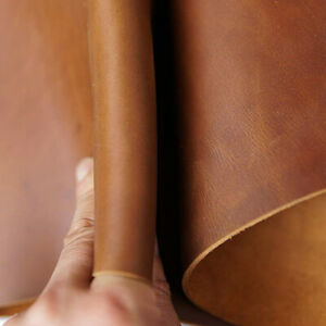 2.0mm Thick Cow Skin Tooling Leather -Customize Size  Full Grain Genuine Leather
