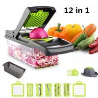 Vegetable Chopper Peeler Fruit Kitchen Cutter Tools Slicer Onion Dicer Veggie US