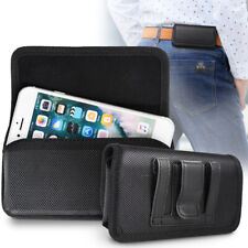 Horizontal Belt Clip Pouch Cell Phone Holster Case For iPhone 12 Mini 6 7 8 Se