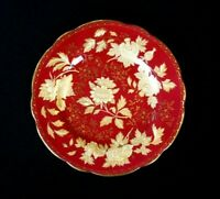 Beautiful Wedgwood Tonquin Ruby Bread Plate