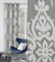 RIDEAU SALON Rideau oeillet 140 X245 cm décoratif avec œillet oeillets baroque