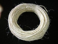 SISAL ROPE. 30m COIL X 4mm. EXCELLENT QUALITY UNTREATED