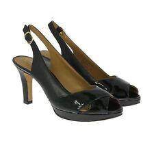 Clarks Block Heel Peep Toe Shoes for Women