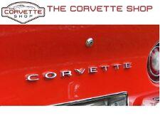 C3 Corvette Rear Bumper Letters Emblem C O R V E T T E 1968-1973 x2638