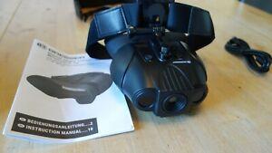 BRESSER Digital NV Binokular 1x mit Kopfhalterung Nachtsichtgerät
