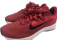 Nike Downshifter 9 Red Youth Size 4.5 Boy's Running Shoes AR4135 600  - NEW