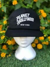 VTG 90s Planet Hollywood New York Strapback Restaurant Bar Baseball Hat Cap