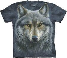 S - 3XL The Mountain Erwachsenen T-Shirt Wölfe alter Wolf Haudegen mit Narben