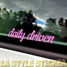 Daily driven pegatinas daily Bitch 4 Doors for more haters Chiptuning 1,8 t TDI