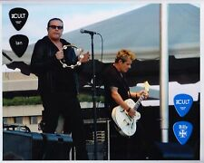 The Cult Ian Astbury Billy Duffy Framed Guitar Pick Display - 2012 Tour