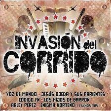 NEW Invasi¢n Del Corrido (Audio CD)