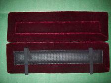 Harness Pads - Draft - Backband Burgundy Crushed velvet