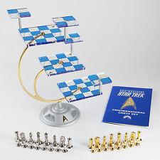 Franklin Mint's Official 50th Anniversary STAR TREK Tridimensional Chess Set NIB