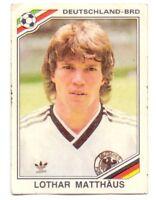 Football sticker LOTHAR MATTHAUS FIFA WC 1986 MEXICO 86 DECJE NOVINE PANINI Yug