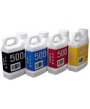 Dye Sublimation Ink 4 500ml Bottles For Epson Surecolor F170 Printer Non Oem