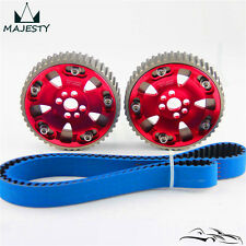 Timing Belt + Cam Gear Kit For Nissan Skyline R32 R33 RB20 RB25DET RB26DET RED