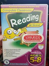Computer Classroom - Reading At Home - Ages 5-8 -  PC GAME - FREE POST