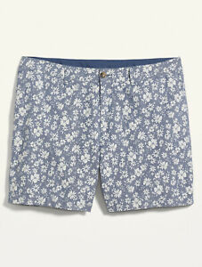 """Old Navy Women's High-Waisted Floral Everyday Plus-Size Shorts 8"""" inseam Size 28"""