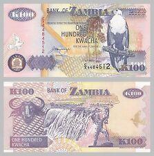 Sambia / Zambia 100 Kwacha 1992 p38b unz.