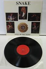 Whitesnake Still Of The Night LP Vinyl Record snake records Battle Creek MI 1987