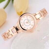 Luxury Women's Crystal Stainless Steel Dial Quartz Bracelet Wrist Watch Watches