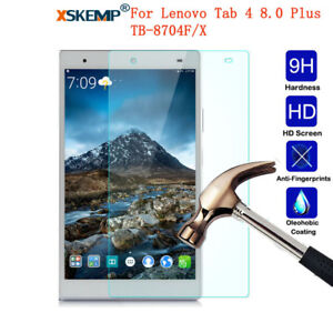 Genuine LCD Tempered Glass Screen Protector For Lenovo Tab 4 8.0 Plus TB-8704F/X