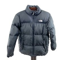 The NORTH FACE 600 Black Winter Goose Down Puffer Coat Jacket Sz L 14/16
