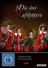 2 DVDs * DIE DREI MUSKETIERE - TEIL 1 + 2 - Gérard Barray # NEU OVP /