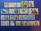 LOT 652 TIMBRES STAMP DIVERS ALLEMAGNE FEDERALE ANNEE 1982 - 1989