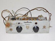 Vintage Tape Master Reel To Reel Microphone Mic Pre Amp Recording Tube Amplifier