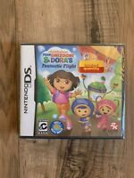 Team Umizoomi & Dora's Fantastic Flight Nintendo DS *New! *Free Shipping!
