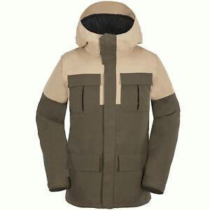 VOLCOM Men's ALTERNATE Snow 2019 Jacket - TEK - Large - NWT