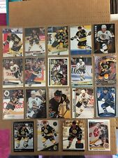 ADAM OATES Quantity 19 Hockey Card Lot Mint Condition BOSTON BRUINS Upper Deck *