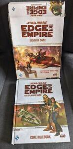 Star Wars Edge of the Empire RPG Core Rulebook & Starter Set Bundle - FFG