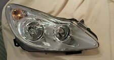 Vauxhall Corsa D Headlamp DEPO 08-442-1152R 2006 O/S Driver Side CHROME INNER