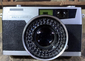 Petri 7s Circle Eye System Color Corrected Super Camera 45mm(PARTS ONLY)