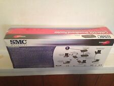SMC Barricade 100 Mbps 4-Port 10/100 Wireless Router Cable/DSL SMC7004VBR New