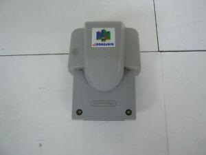NINTENDO N64 PAL GREY RUMBLE PAK free shipping